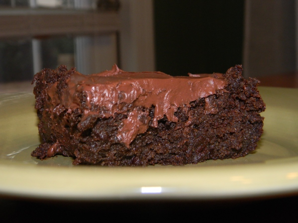 This is one delectable chocolate cake!