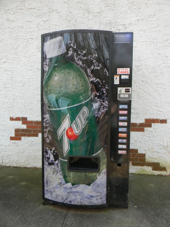 The infamous SODA MACHINE!
